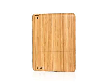 iPad case - bamboe