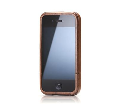 iPhone 4 case - walnoten