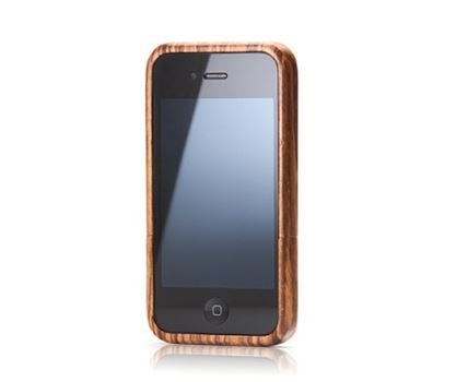 iPhone 5 case - zebrano