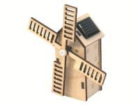 Molen Mini Holland met zonnepaneel