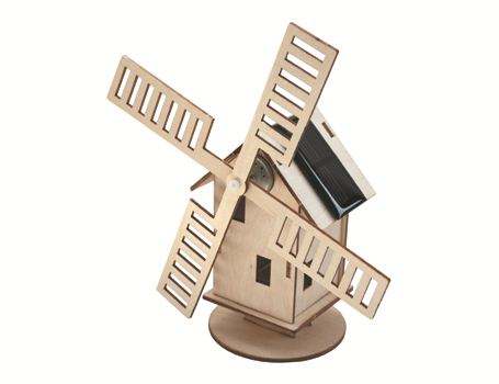 Selbstbaupaket Mühle  Holland Solar