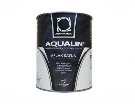 Aqualin aflak - zijdeglans - wit
