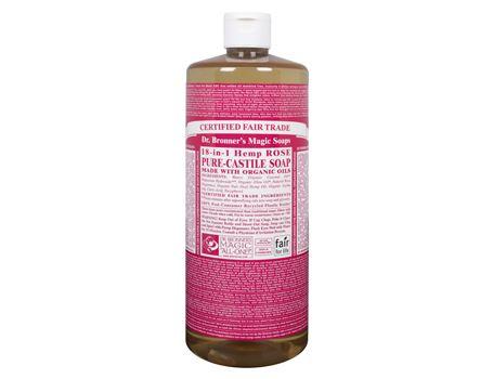 Dr. Bronner - 944 ml - Liquid Soap - Rose