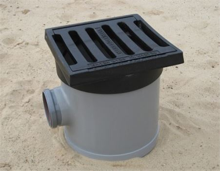 Afvoerput voor regenwater