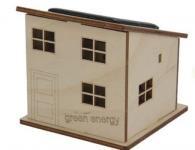 Huis - bouwpakket met zonnepaneel
