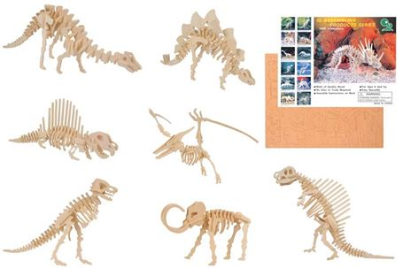 Bouwpakket - Maak Dino`s - assorti
