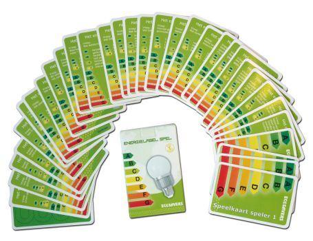 Kaartspel - Het Energielabel spel