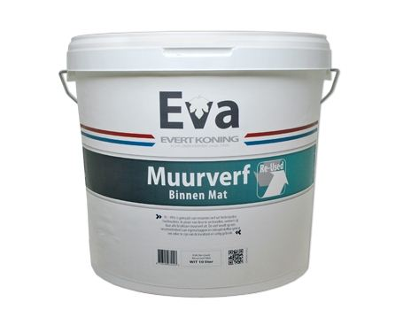 Muurverf EVA recycle