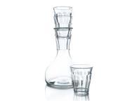 French Decanter met 4 glazen