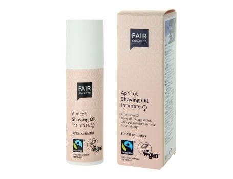 Fair Squared Shaving Oil - Apricot