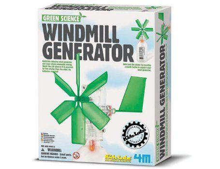 Green Science - Doe-het-zelf Windmolen