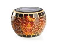 Tafellamp op zon met mozaiek en leem