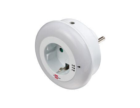 Nachtlampje en stopcontact - drie kleuren