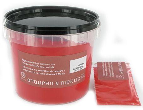 Losse pigmenten voor kalkverf