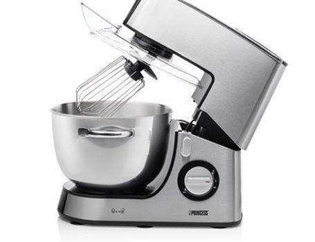 Keukenmachine DeLuxe 6L - RVS kom