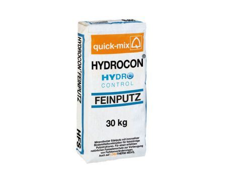 Hydrocon Feinputz op houtvezel