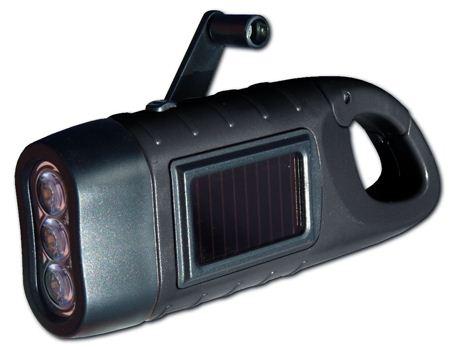Taschenlampe mit Karabinerhaken