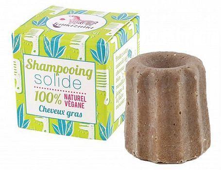 Festes Shampoo fettiges Haar