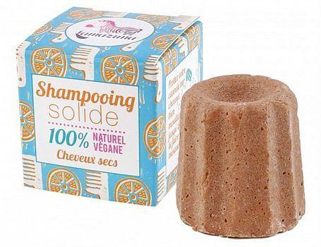 Festes Shampoo trockenes Haar