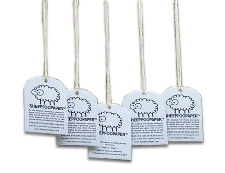 sheep poo paper air freshner