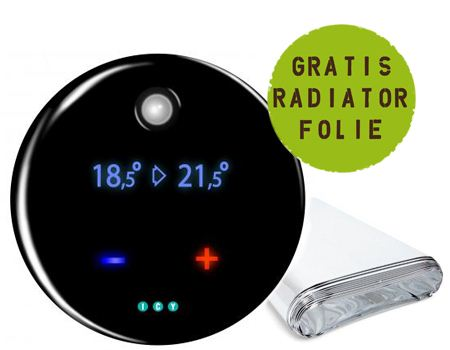 Slimme thermostaat + gratis radiatorfolie