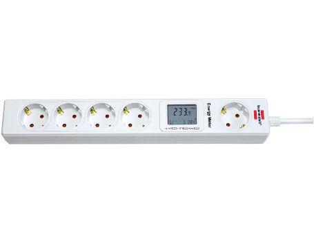 Stekkerdoos met energiemeter
