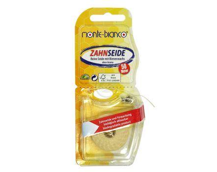 Tandzijde - Flosdraad - zijde met bijenwas