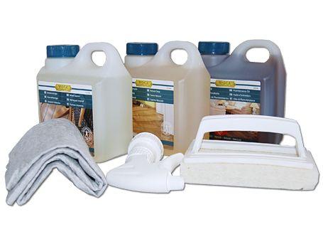 Pflegebox Ölböden Weiß