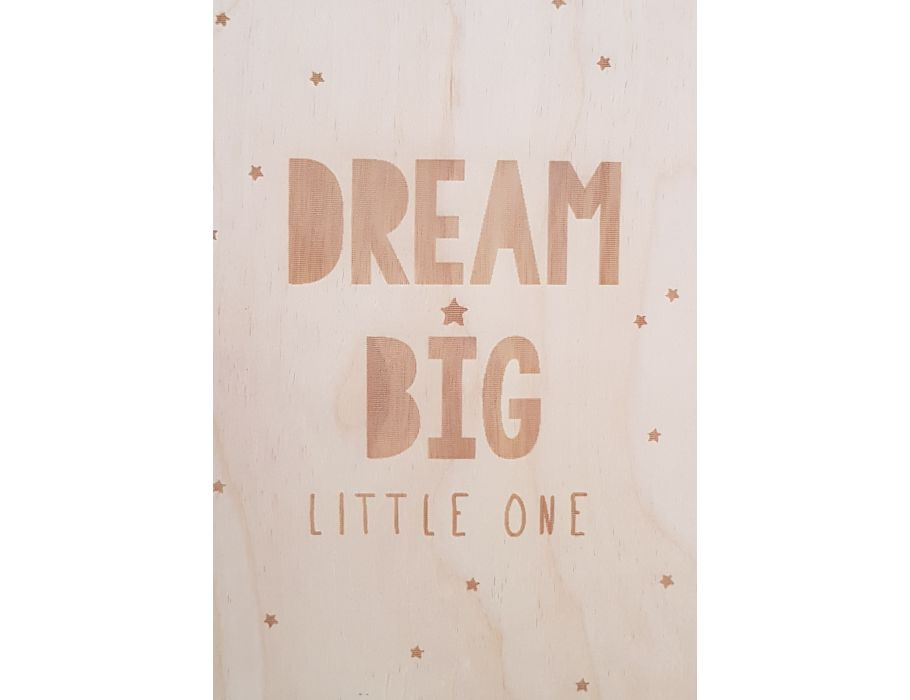 Set Houten briefkaarten - 73 Dream