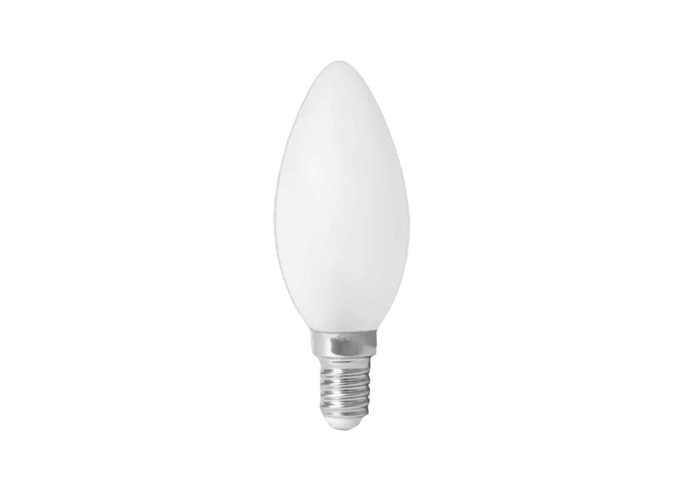 Ledlamp - E14- 470 lm - kaars - mat