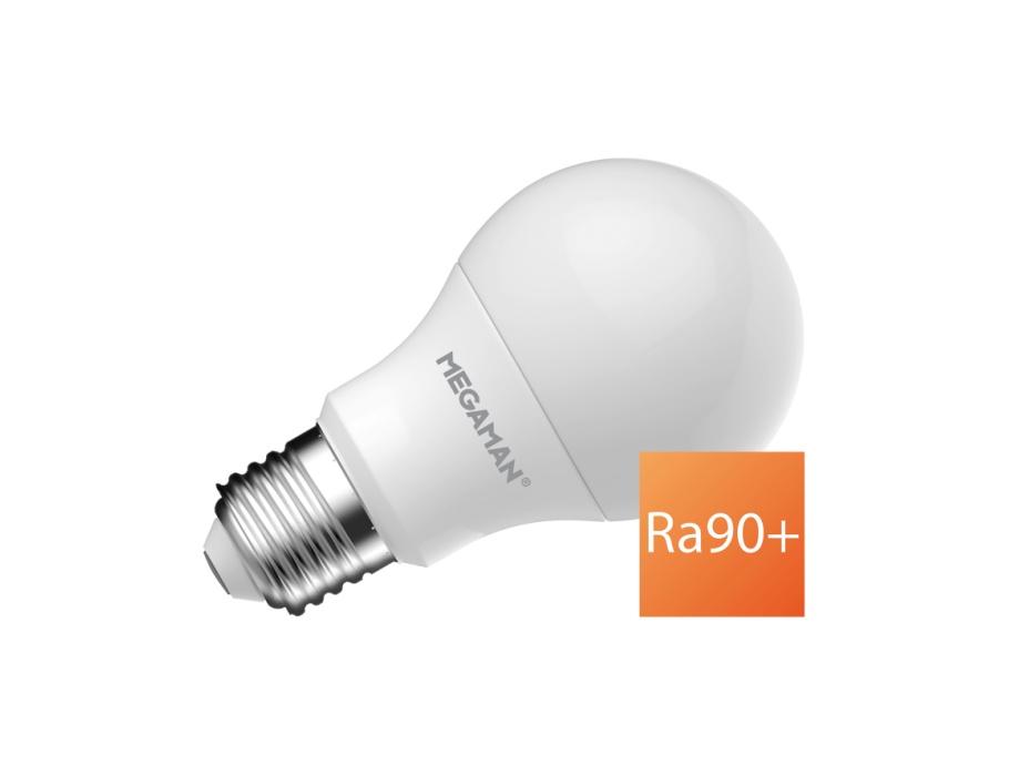 Ledlamp - E27 - 470 lm - bol A60 - mat - dimbaar