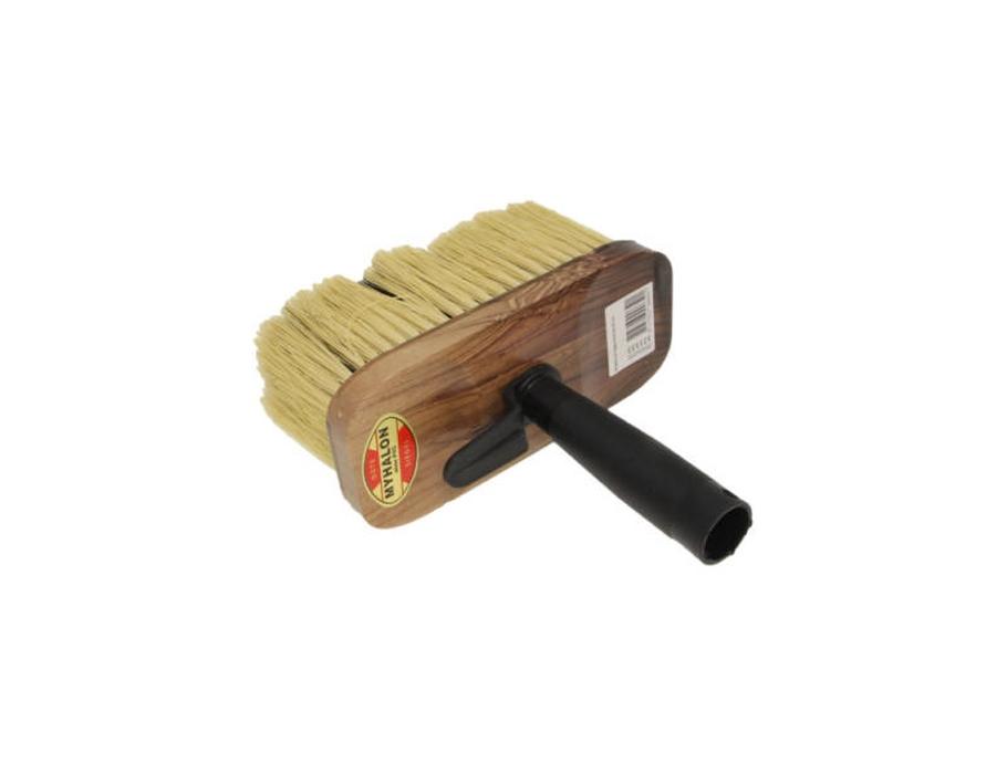 blokkwast ovaal hout 8x18 cm
