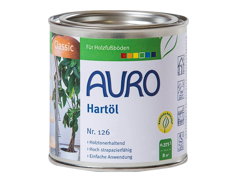 Vloer impregneer Harde Olie (nr. 126) 0,75 L