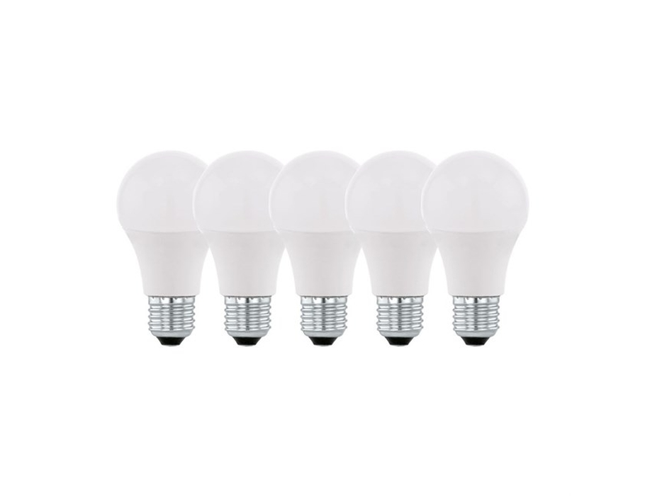 Ledlamp - E27 - 805 lm - 2700K - Mat - 5 stuks