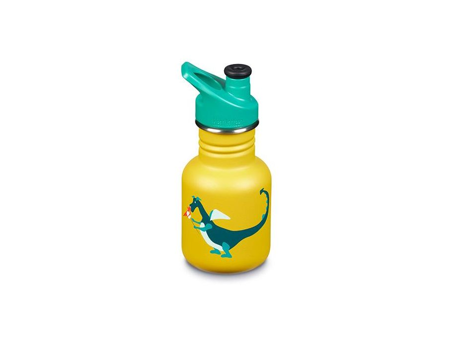 12 oz / 355 ml Kid Kanteen - Sport Cap - Print Dragon Snack