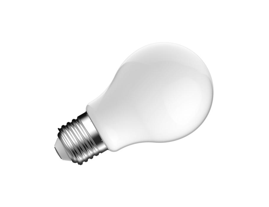 Ledlamp - E27 - 810 lm - bol - mat