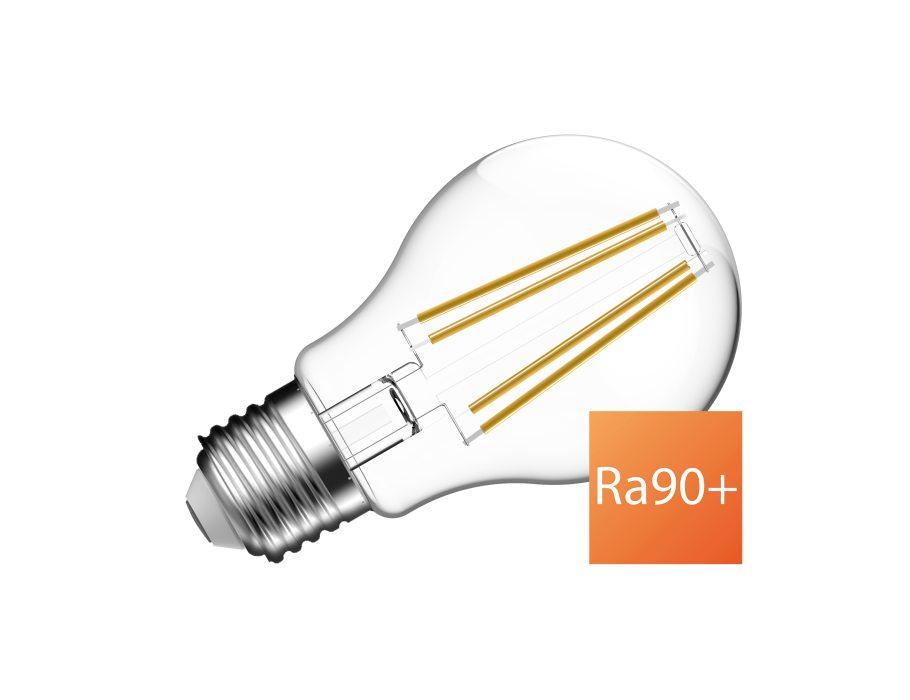 Ledlamp - E27 - 810 lm - bol A60 - helder - dimbaar