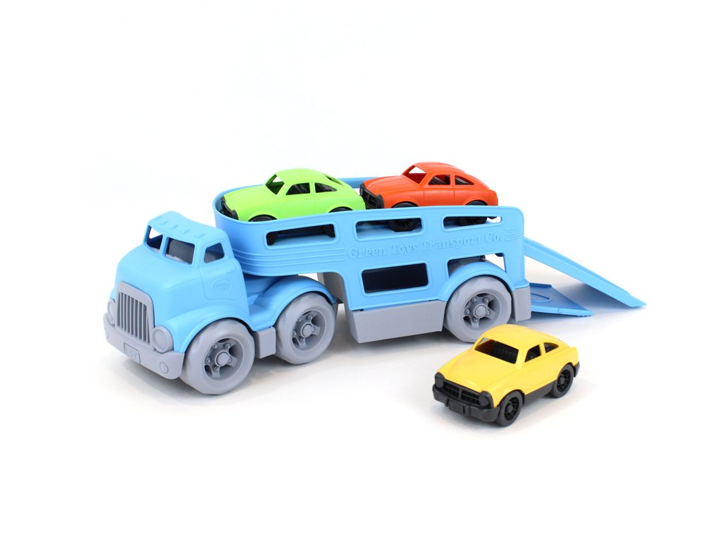 Traktor in Orange