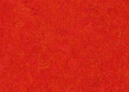 Marmoleum Click - Scarlet - 30 x 30 cm