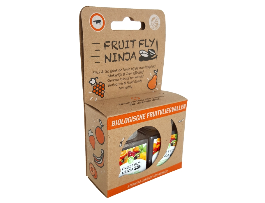 Fruit Fly Ninja 2-pack - anti-fruitvlieg