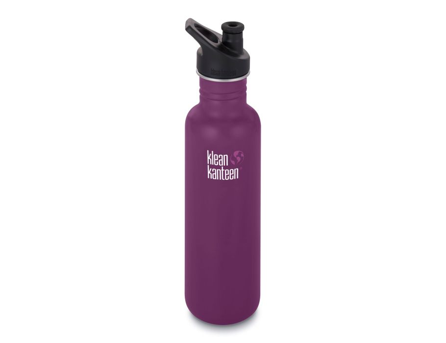27 oz / 799 ml Kanteen Classic Sportcap - Winter Plum