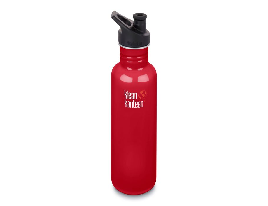 27oz Kanteen Classic Sport - Mineral Red
