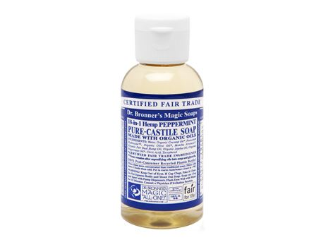 Dr. Bronner - 59 ml - Liquid Soap - Peppermint