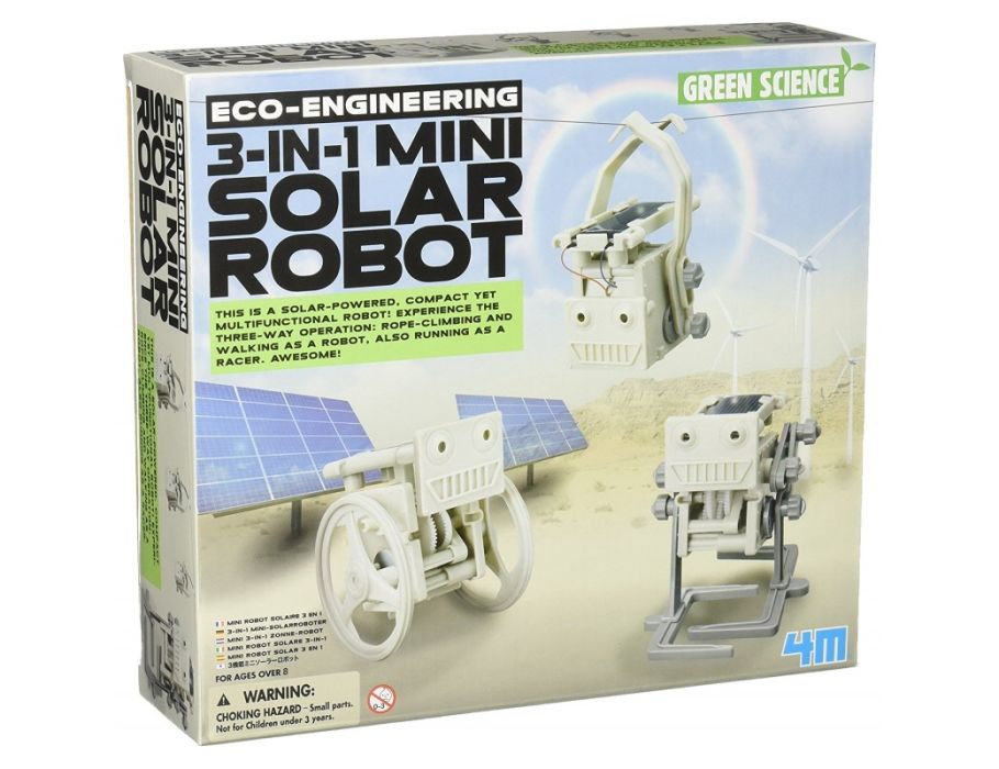 Bouwpakket -3 in 1 Mini Solar Robot