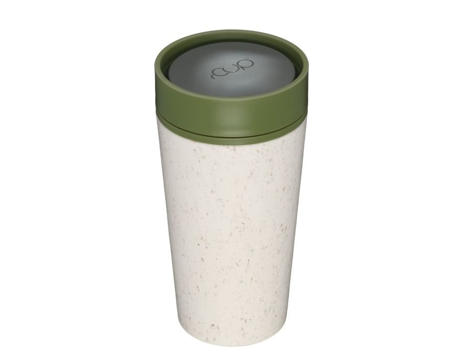 rCUP 350 ml - Cream and Green