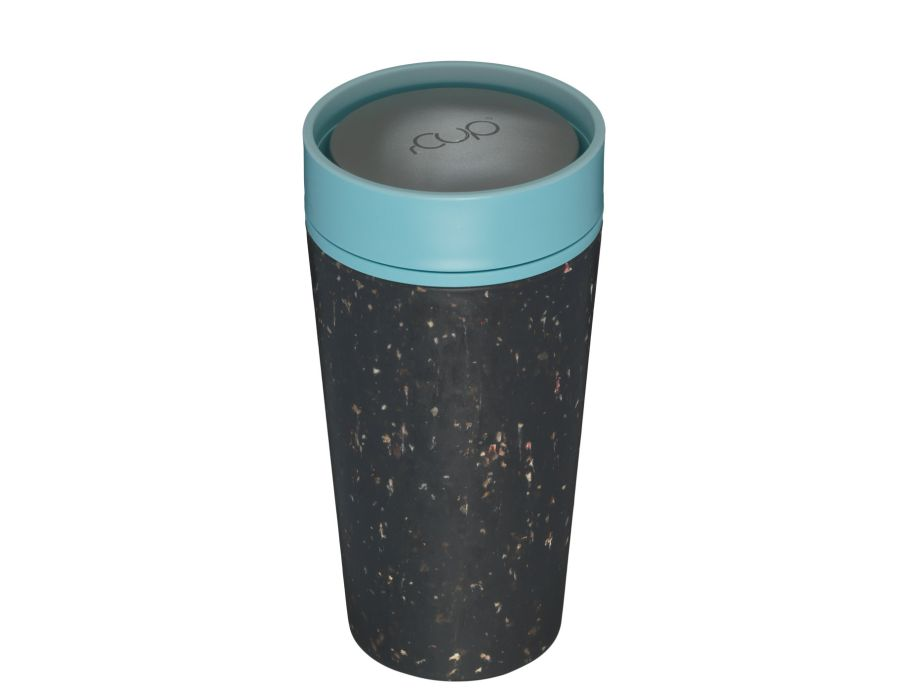 Rcup 340 ml - Black and Teal