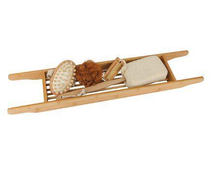 Bamboe geschenkset - bad rekje