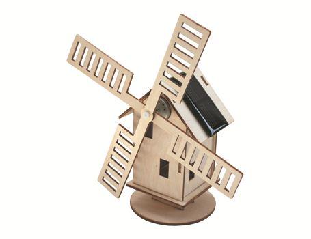 Bouwpakket – Hollandse molen met zonnepaneel