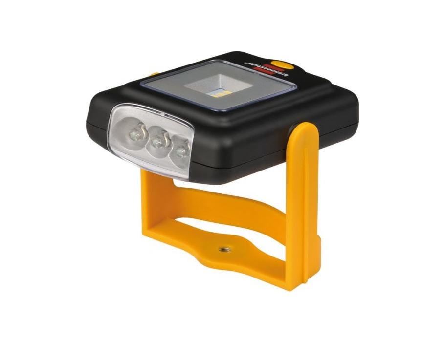 Zak/Werk lamp met 4+3 SMD LED's