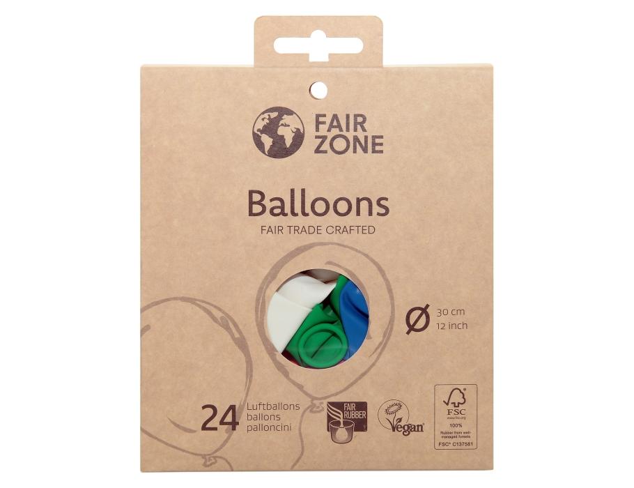 ballonnen 24 st. - één kleur